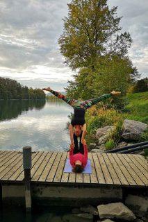 Acrobatic Yoga Star Pose in 79713 Bad Säckingen