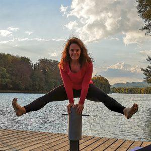 Acrobatic Yoga Jam Star Pose by Annette Kunkel in 79713 Bad Säckingen