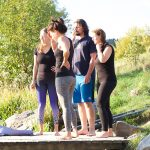 Acrobatic Yoga Warrior Group Relaxing in 79713 Bad Säckingen