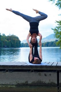 Acrobatic Yoga Star Pose Special Creation by Jessy in 79713 Bad Säckingen