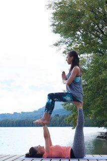Acrobatic Yoga Throne Pose in 79713 Bad Säckingen