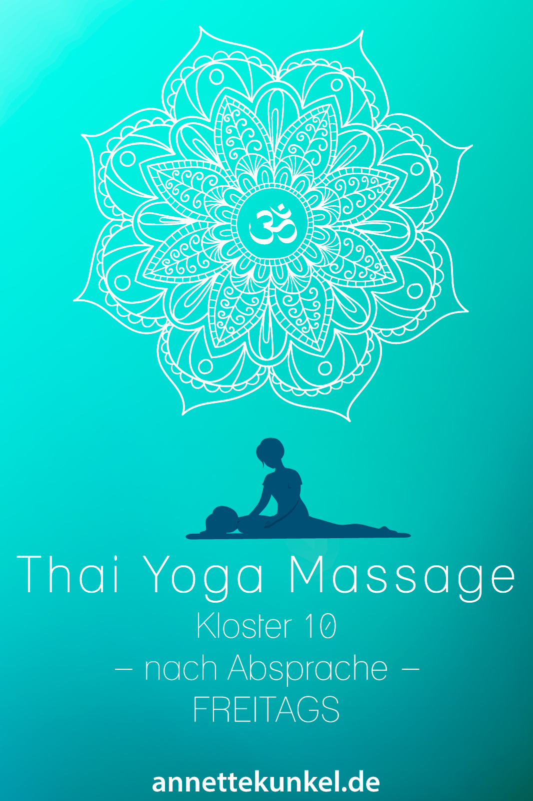 Thai Yoga Massage in Bad Säckingen ab 25 Euro - wohltuende Einzelsession.