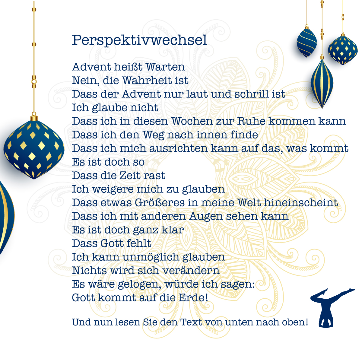 Annette Kunkel wünscht eine fröhliche Weihnacht
