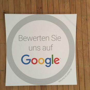 Ein Geschenk von Google - Dankeschön.
