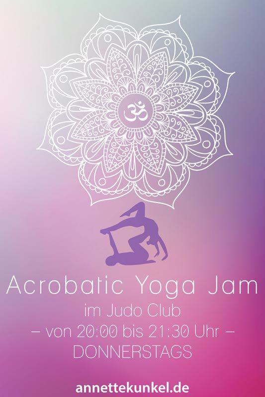 sensationelles Acrobatic Yoga in Obersäckingen mit Annette Kunkel